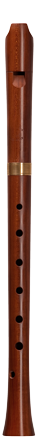 Early baroque alto recorder