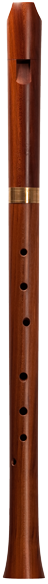 Early baroque tenor recorder